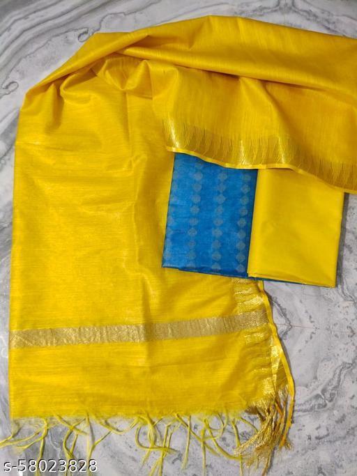 Silk suit kurti fabrics