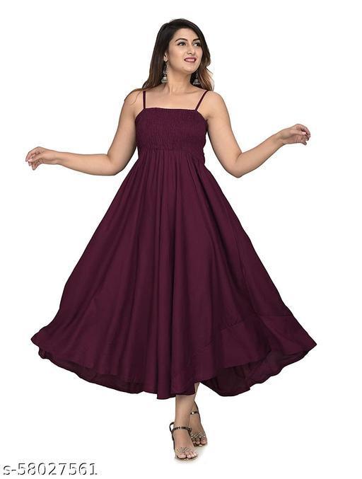 Zamaisha designed Extremely Stylish Comfortable Demanding Rayon Dress