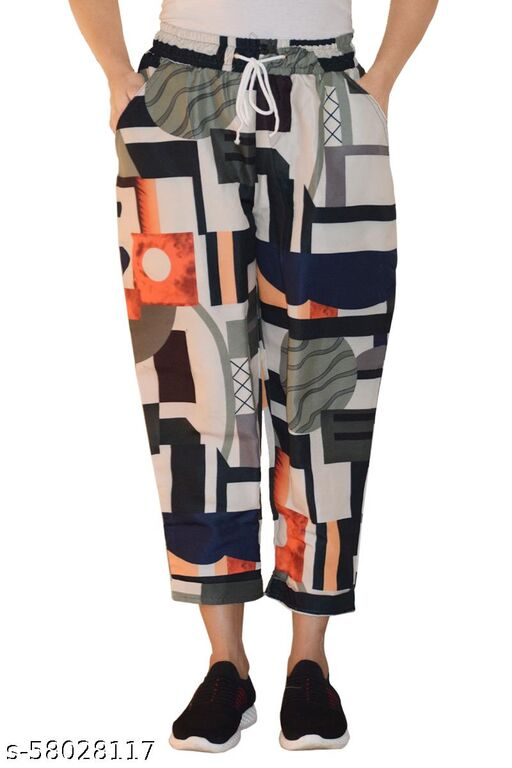 Ritsila   Women's Loose Lower Comfortable Western Classy trousers
