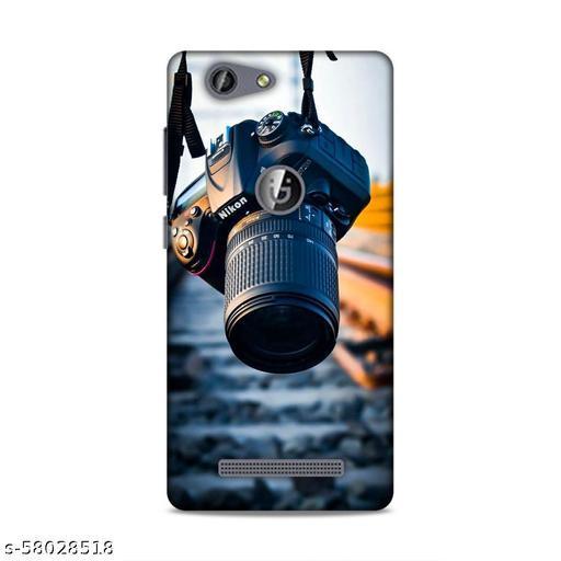 SAHU KRAFT Back Cover For Gionee F103 Pro Printed Back Cover|Camera Printed Back Cover|(Black, Hard Case)