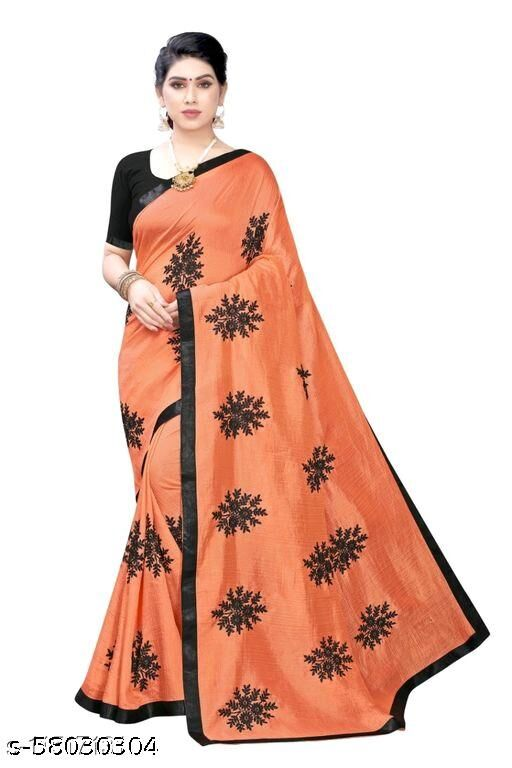 Heavy Work Embroidery Saree with Georgette Fabric