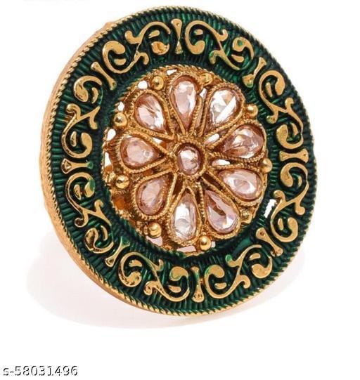 New Trendy Diamond Ring with minakary