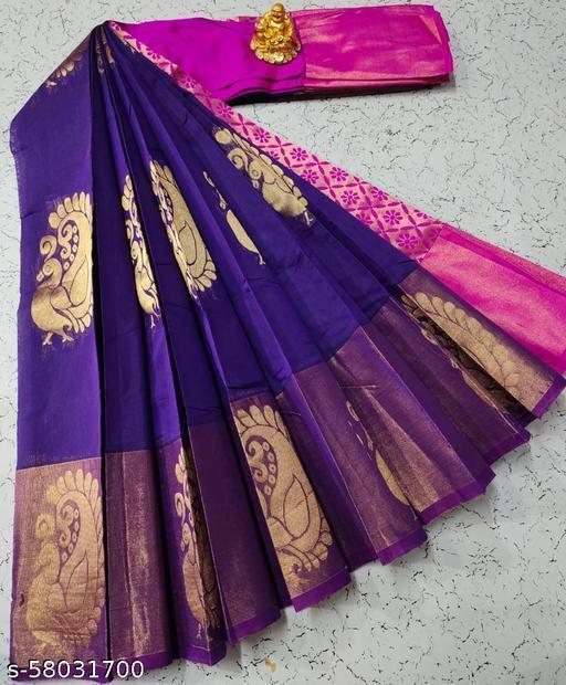 Chanderi Kuppadam silk cotton sarees