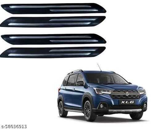 Urban villagers Car Double Chrome Door & Bumper Guard Protector Set of 4 Pcs for Maruti Suzuki XL6