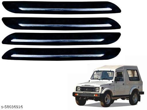 Urban villagers Single Chrome Bumper Protector Set of 4 Pcs for Maruti Suzuki Gypsy
