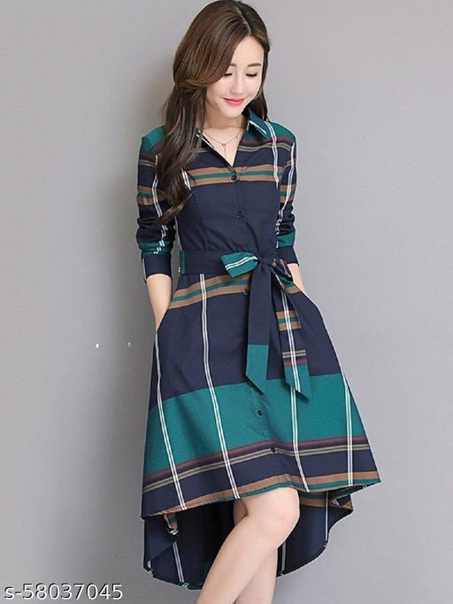 Gleamrush Trendy women's western Dresses