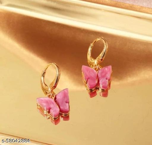 Stylish Multi Butterfly Earring For Women & Girls