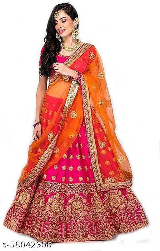 Red Heavy Embroidery Designer Bridal Collection lehenga cholis
