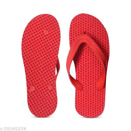 RUSTOM-RED Flip Flops