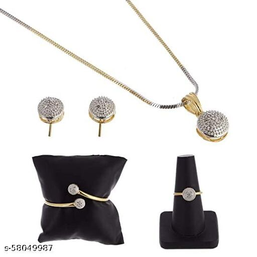 Jewellery Set Gold Plated-016