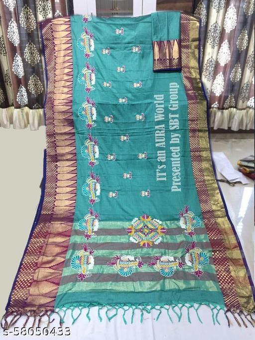 Premium Choice Buy Online Heavy Jacquard Silk Saree with Blouse Piece.