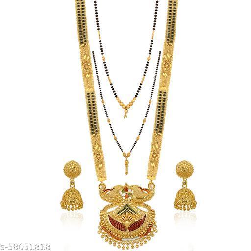 Feminine Glittering Jewellery Sets