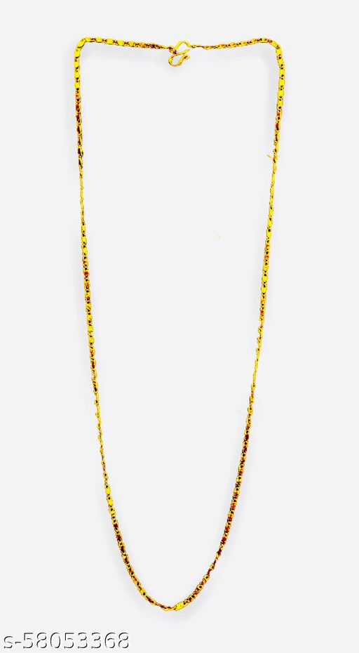 Gold Plated Chain With Box