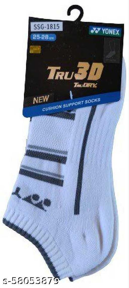 Yonex SSG-1815 Tru 3D Cushion Support Socks (Gray)