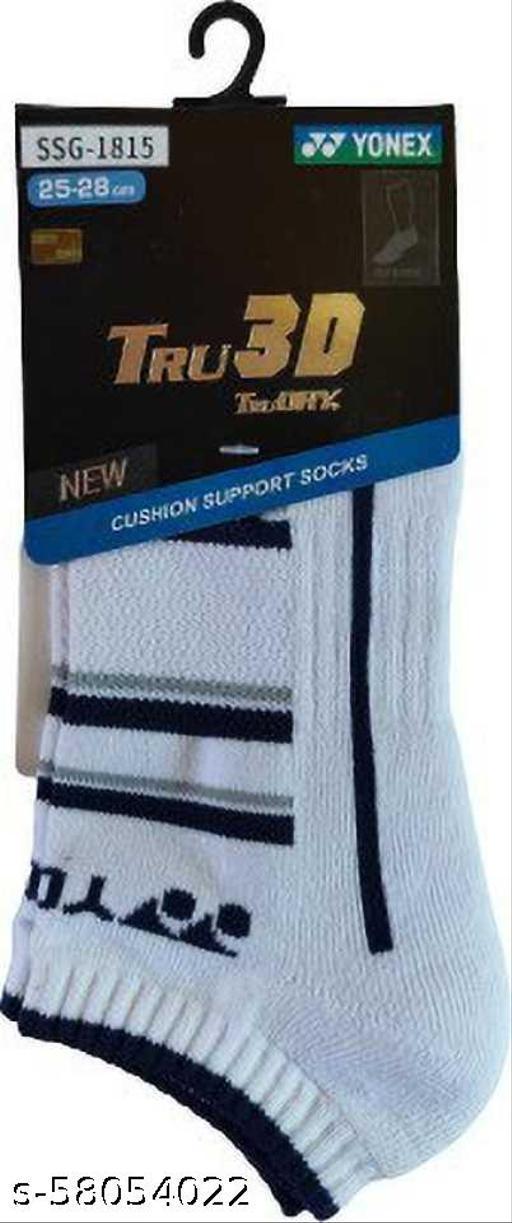 Yonex SSG-1815 Tru 3D Cushion Support Socks (Blue)