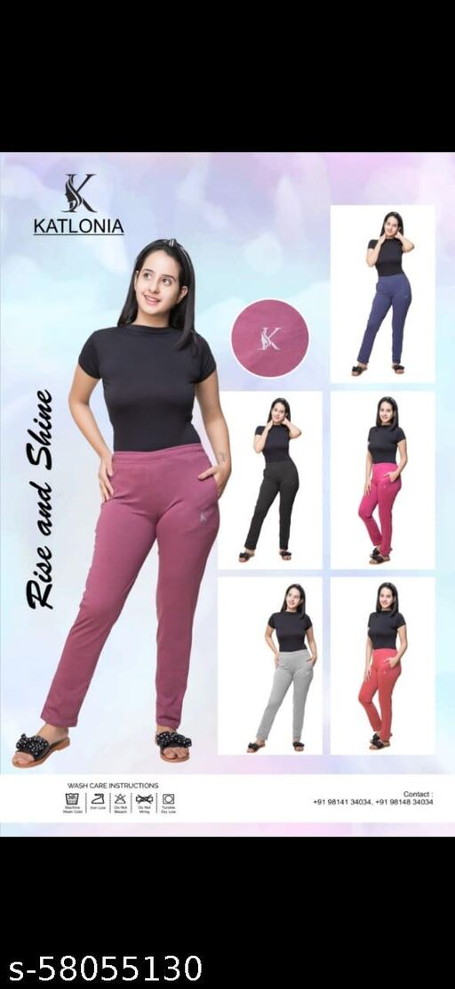 Comfy Retro Women Women Trousers