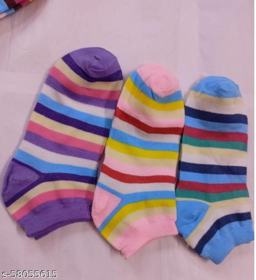 Casual Unique Women Socks- Pack of 3 pair