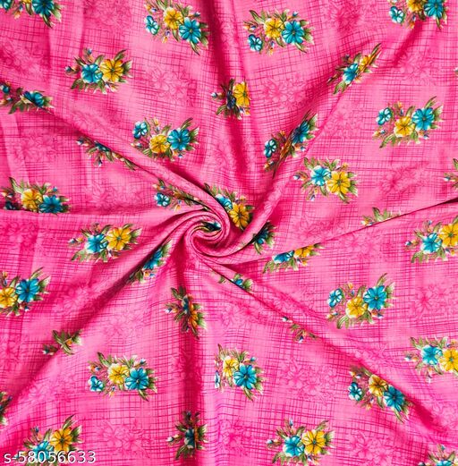 Unstitched Fabric For Kurti (2.25 Meter)