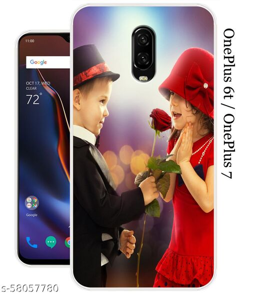 OnePlus 6T Or OnePlus 7 Back Cover By Meesho