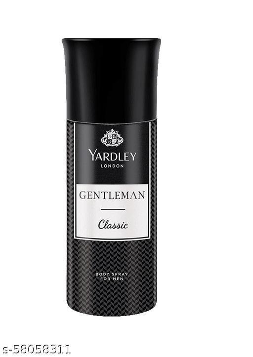 Yardley London Gentleman Classic Body Spray 150ml Pack of 1