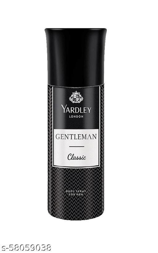 Yardley London Gentleman Classic Body Spray 150ml Set of __1