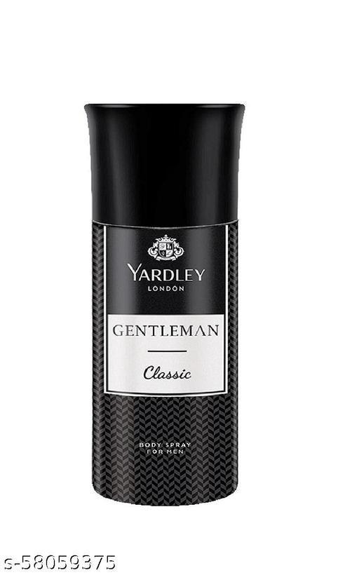 Yardley London Gentleman Classic Body Spray 150ml Pack of1
