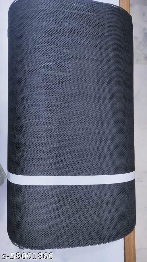 5 Meter Black Big Hole Can-Can Net 10 Count
