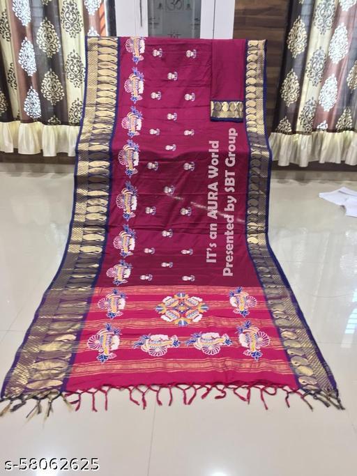Latest Heavy Jacquard Silk Sarees