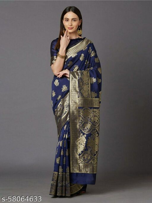 Small Butti Designed Sarees