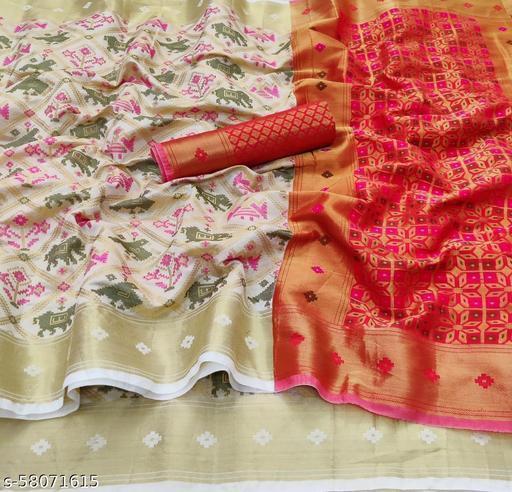 New Heavy Silk Patola Saree