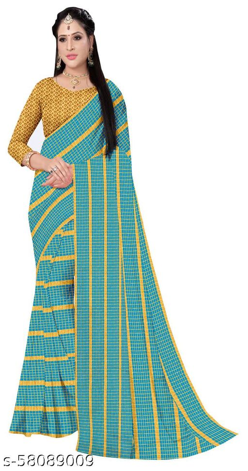 GRAND Designer Dupion  Silk Striped Saree
