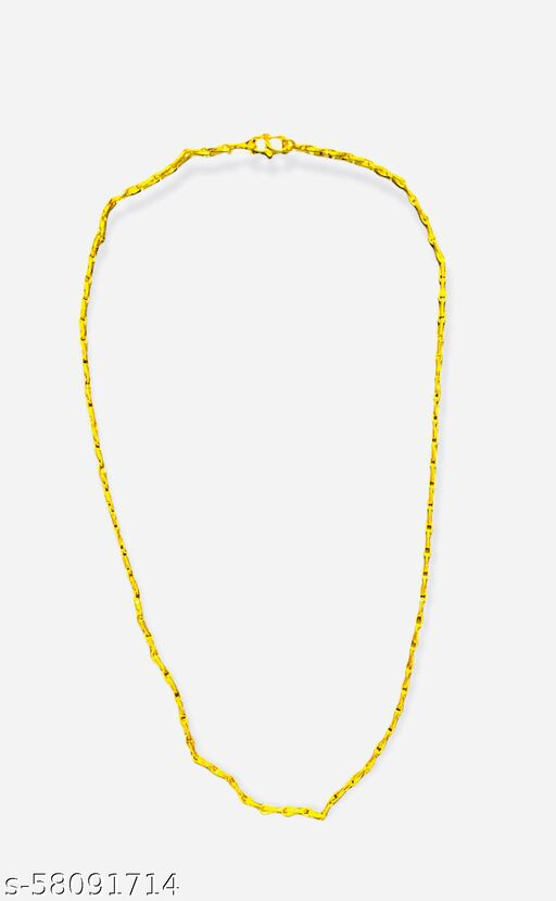 HIGH QUALITY GOLD PLATED CHAIN WITH BOX  Necklaces & Chains