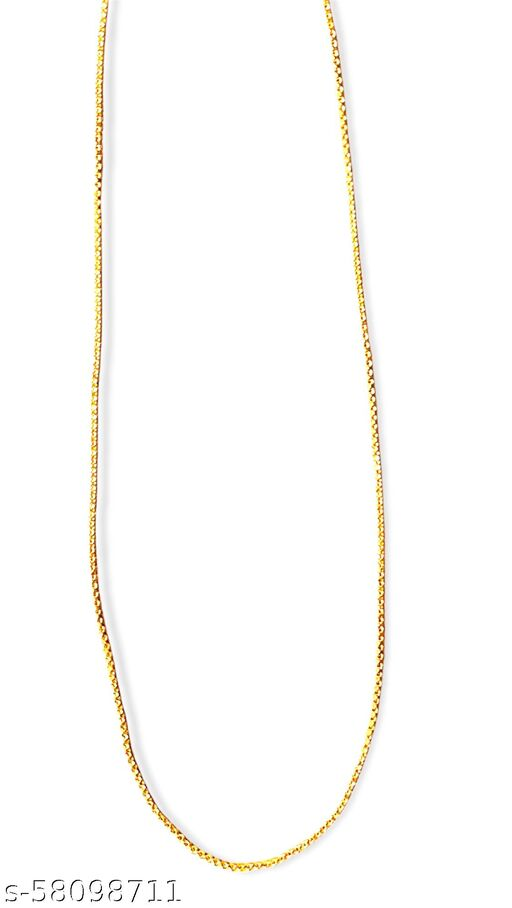 HIGH QUALITY GOLD PLATED CHAIN WITH BOX