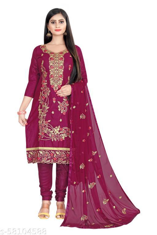 Women Trendy Cotton Suits & Dress Materials