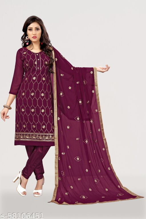 Women Trendy Suits & Dress Materials