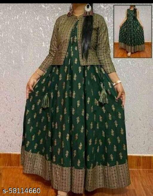 New Design kurti with jacket