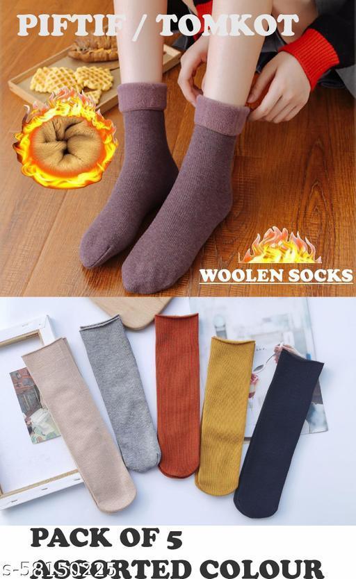 Tomkot Hot sale wholesale autumn winter snow warm thick women socks