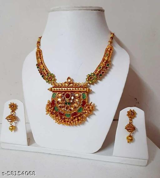 Fancy Dealz  Alloy Jewel Set  (Gold)