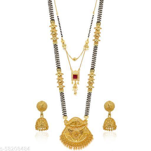 Pearl Mangalsutra Jewellery Set