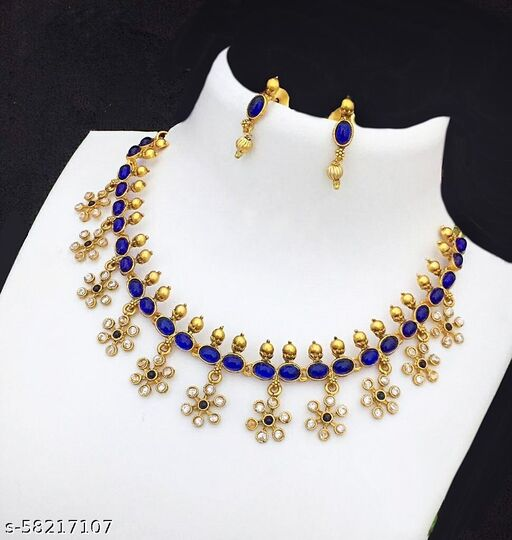 Gold Plated AD Stone Jewellery Sets