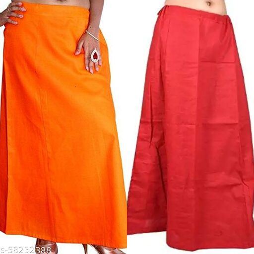 Best Quality Cotton Petticoat Combo of 2