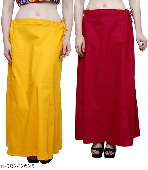Best Quality Saree Petticoats Pack of 2