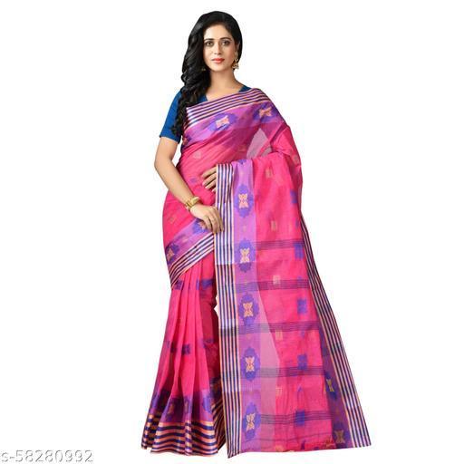 TRENDZ 365 Pure Cotton Tant Sari