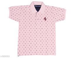 Elegant Cotton Kids Boys Tshirt