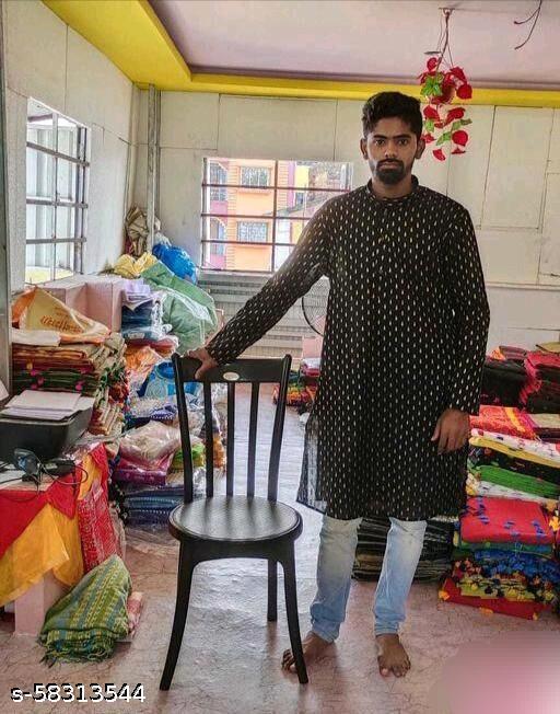 Trendy cotton Men Kurta (Without Pajama )