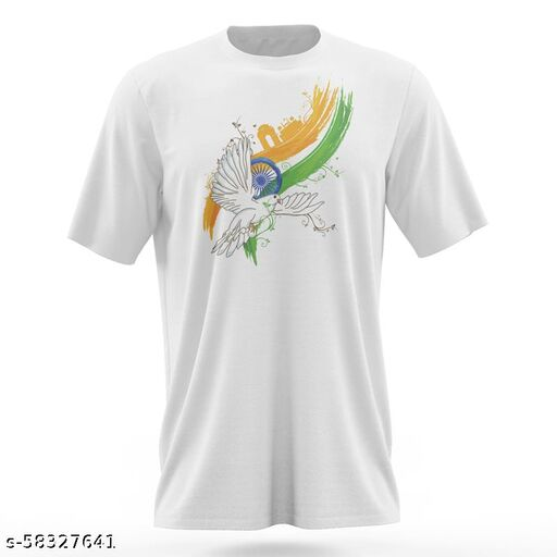 T-Shirt For Men   Polyester   Soft Feel Fabric