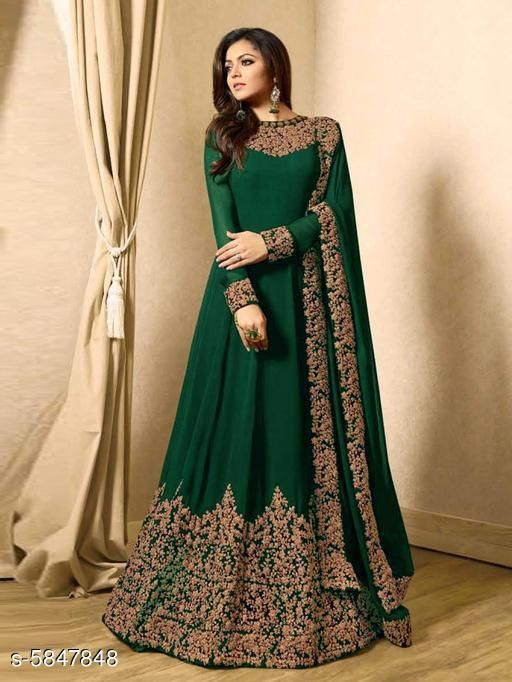 Aagam Attractive Gown Sets