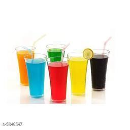 Trendy Premium Quality Plastic Unbreakable Water,Juice, Drinking Glass