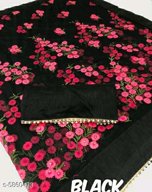 Stylish Net Saree