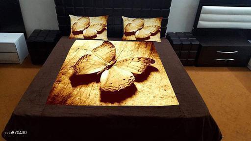 Trendy Velvet 105 X 95 Double Bedsheets